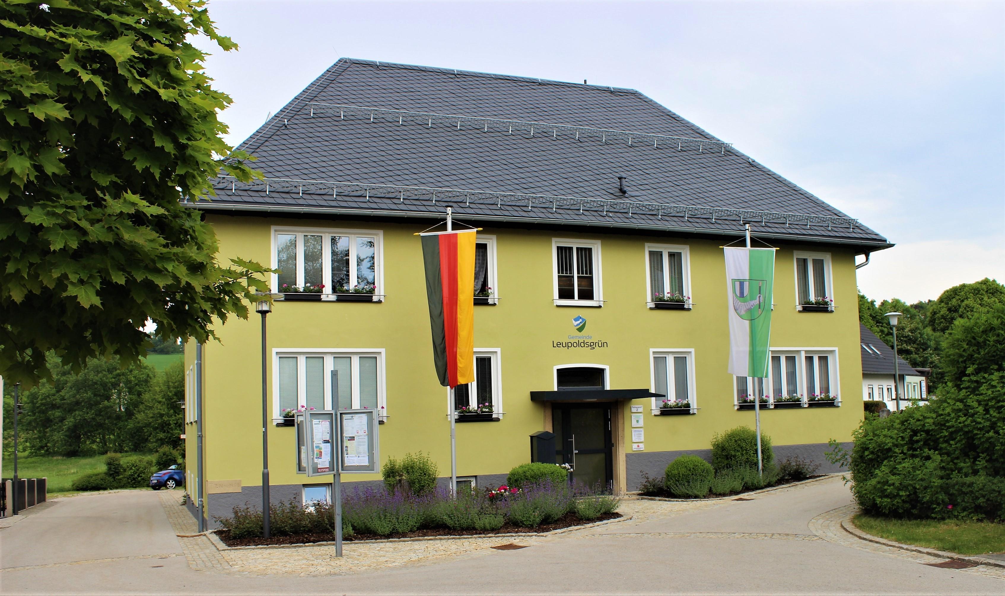 Rathaus der Gemeinde Leupoldsgrün
