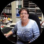 Gemeindemitarbeiterin Gerda Deeg