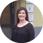 Gemeindemitarbeiterin Nadja Schaller-Wolfrum