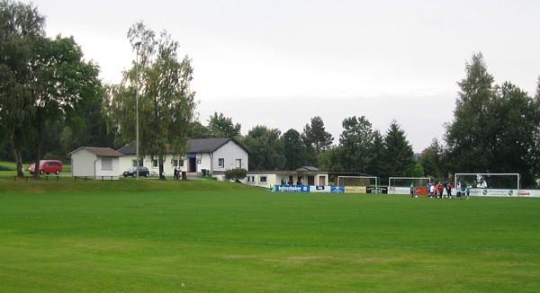 Fußballplatz des ASV Leupoldsgrün