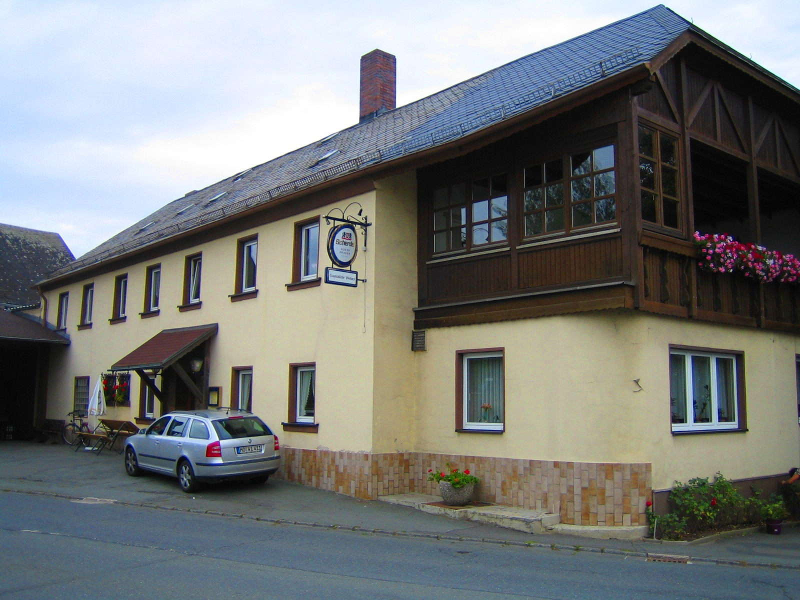 Gaststätte Weber in Leupoldsgrün