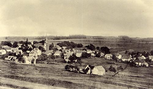 Leupoldsgrün gegen Ende des 19. Jahrhunderts