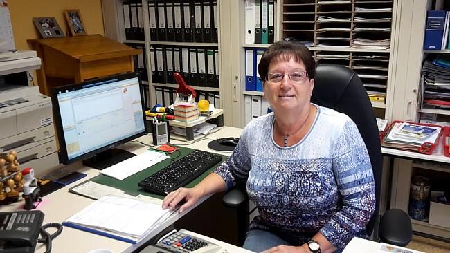 Verwaltungsfachkraft Gerda Deeg