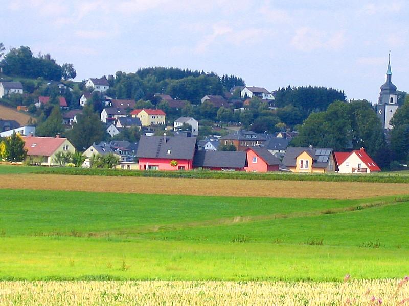 Sonniges Baugebiet Flurweg in Leupoldsgrün