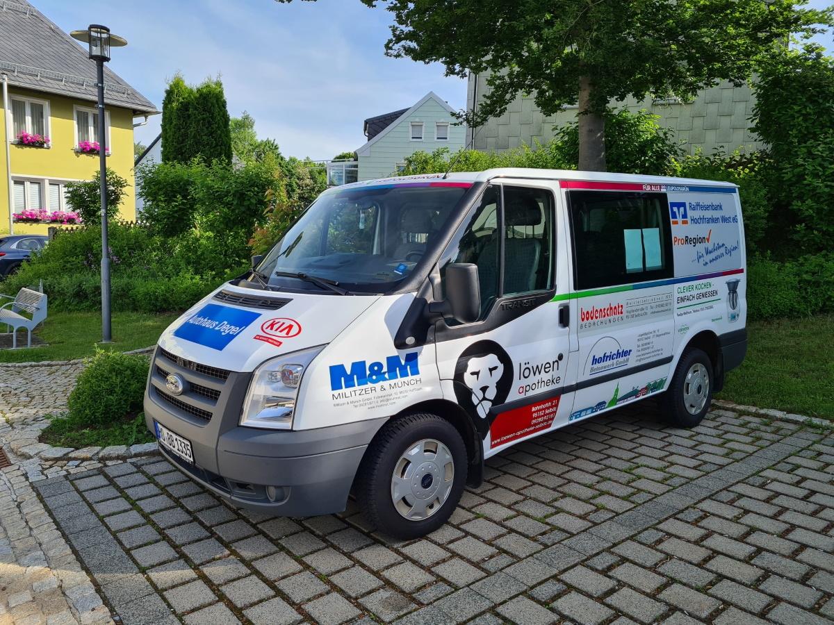 Leupoldsgrüner Bürgerbus startet wieder