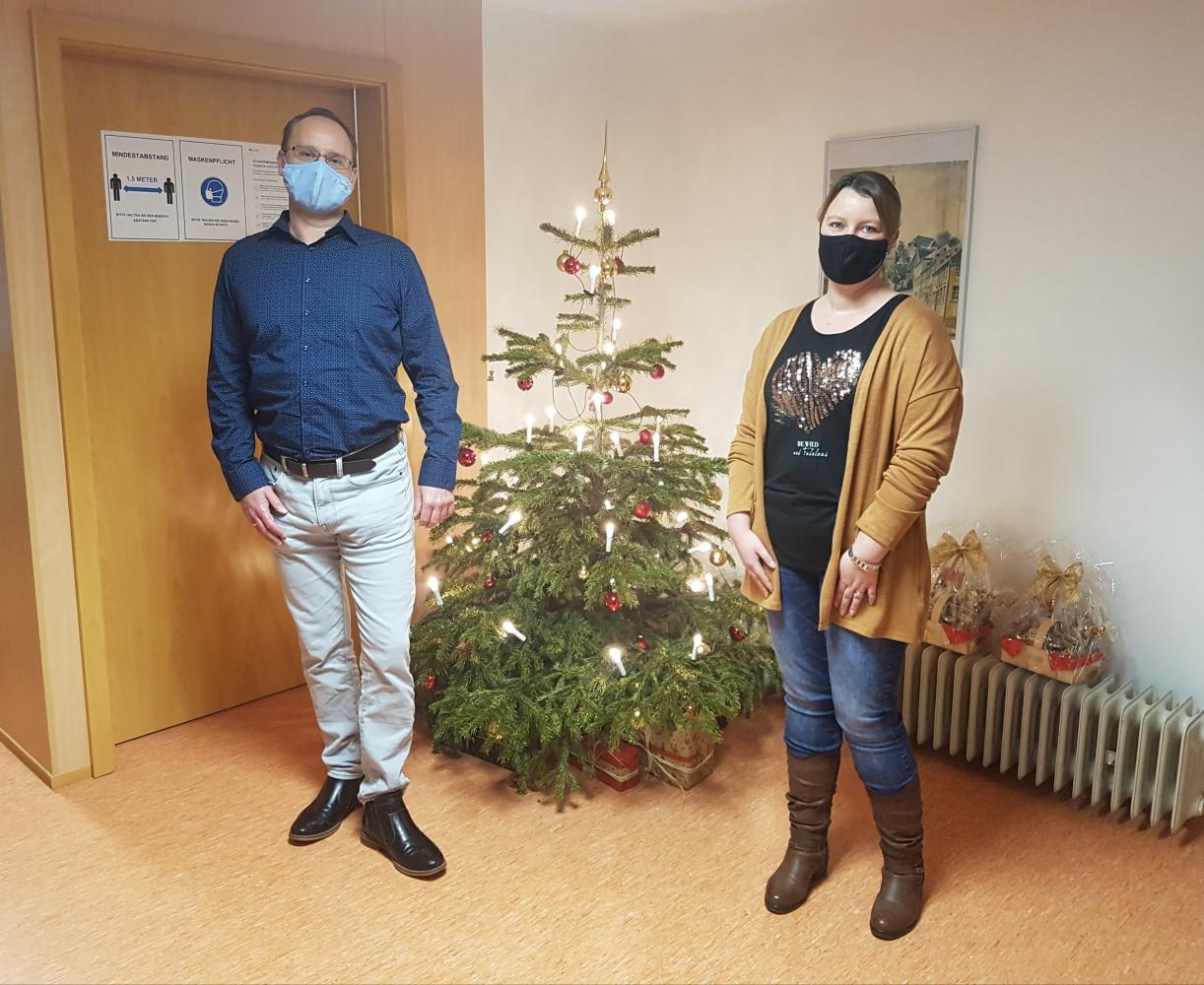 Neue Mitarbeiter der VG Schauenstein