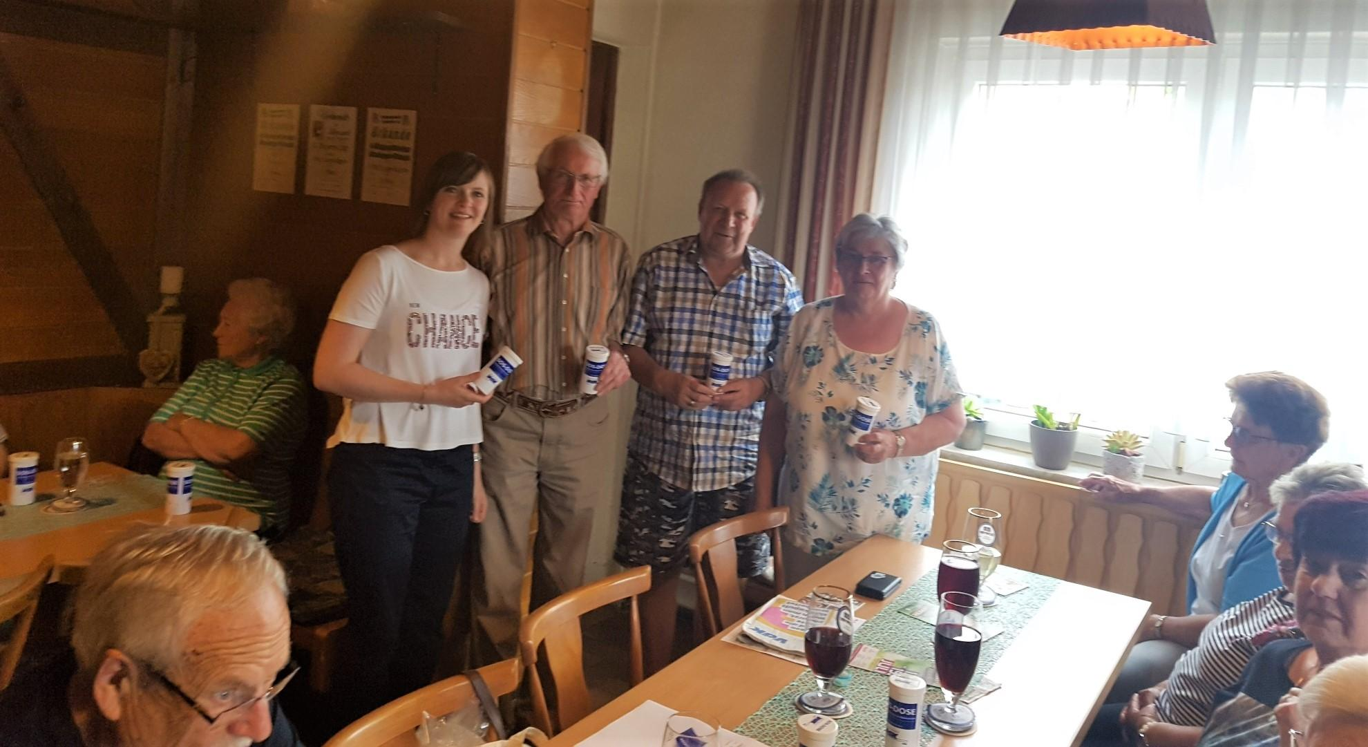 SOS-Dose für Leupoldsgrüner Senioren