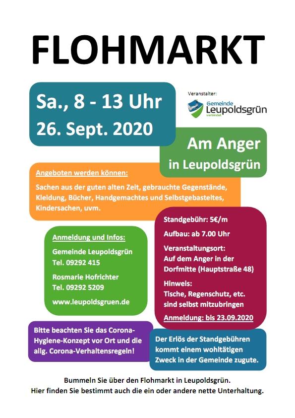 Gemeinde Leupoldsgrün - Flohmarkt