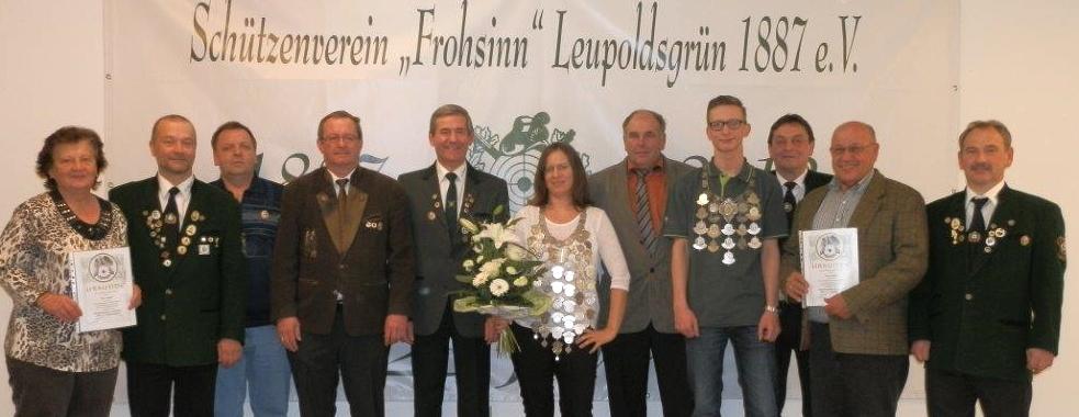 SV Frohsinn - Königsfeier